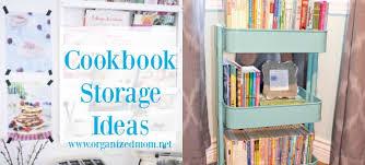 Image Fridge The Organized Mom 10 New Ideas For Storing Cookbooks The Organized Mom