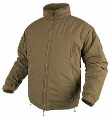winter jacket helikon level 7 coyote brown