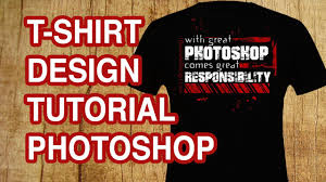 Photoshop Cs6 T Shirt Design Tutorial How To Design A T Shirt With Text Photoshop Tutorial