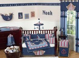 navy blue nautical boat baby crib