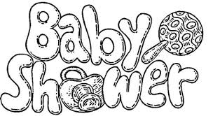 baby shower coloring pages baby shower celebration coloring page free printable coloring pages