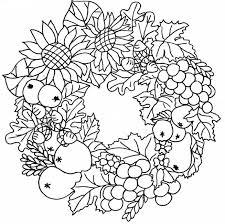 Coloriage Saison Automne Les Beaux Dessins De Nature Imprimer