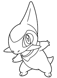Pokemon Go 152 Video Games Printable Coloring Pages