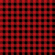 Plaid Pattern Classy Black And Red Buffalo Plaid Printed Craft Vinyl Vinyl Printcess