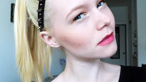 everyday makeup routine for my blonde hair