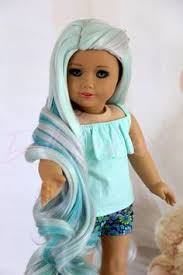 Sand Ocean American girl <b>doll wig</b> - <b>Heat</b> safe - fit most 14'' and 15 ...