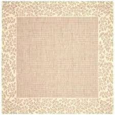 square area rugs 7 x 7 7 square rugs courtyard brown natural 7 ft x 7 square area rugs