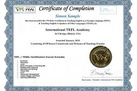 Accredited 170 Hour Online Tefl Certification Class With