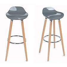 Where To Buy Modern Furniture New Amazon FurnitureR Set Of 48 Eames Style Chair Bar Stool Modern