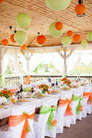 Image result for green and orange wedding theme