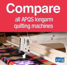 Compare all APQS longarm quilting machines using this handy chart ... & Compare all APQS longarm quilting machines using this handy chart.   Quilting  Machines   Pinterest   More Longarm quilting ideas Adamdwight.com