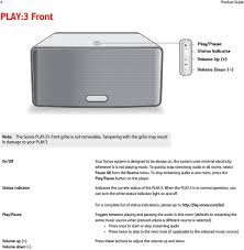 Sonos Solid Amber Light Sonos Play 3 Product Guide Pdf Free Download