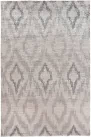 exquisite rugs ikat hand knotted light silver area rug
