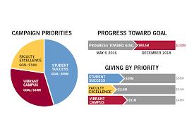 Fundraising Progress Chart Pie Chart Dan Flints Portfolio