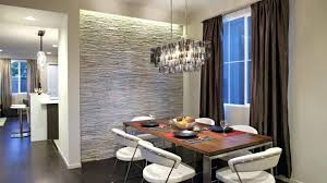 wall accent lighting. Amazing Wall Accent Lighting And Interior Stone Contemporary Dining Room With A Gray