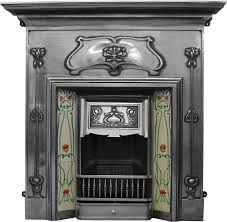 carron reion cast iron combination fireplaces cast from original moulds to look like old refurbished fireplaces
