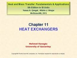 Heat And Mass Transfer Fundamentals Applications Fourth Edition