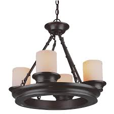 allen roth 4 light oil rubbed bronze chandelier