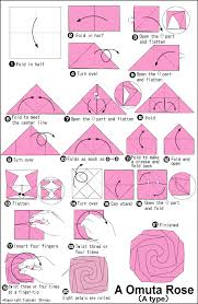 How To Make A Flower Out Of Paper Step By Step How To Make Origami Rose Step By Step Instructions Money Origami