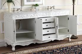 traditional double sink bathroom vanities. 72 Antique White Double Sink Beckham Bathroom Vanity CF 3882W AW Regarding Prepare 19 Traditional Vanities T