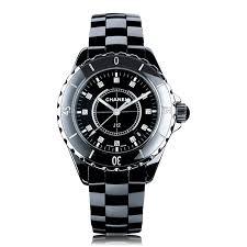chanel j12 black black watch h1625 the watch gallery chanel j12 black h1625 ‹