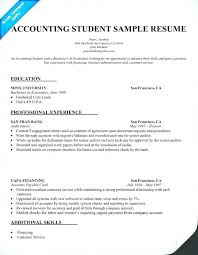 Sample Resume For Accountant With Experience Best of Sample Resumes For Accounting Stanmartin