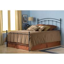 sanford iron bed in matte black black iron bed0