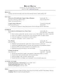 Barback Resume Stunning Barback Resume Sample Thian