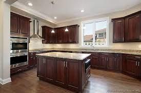 120 Cherry Color Kitchens Ideas Cherry Cabinets Kitchen Kitchen Design Wood Kitchen