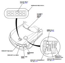 honda acura 3 5l body electrical wiring diagram and harness 96 04