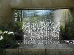 glass water wall fountain 54 garden water features awesome outdoor glass water wall fountain