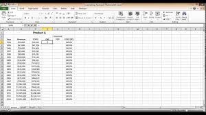 Gross Margin Calculation In Excel