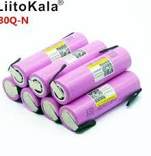 <b>Liitokala</b> 30Q-N18650 3000mah electronic cigarette Rechargeable ...