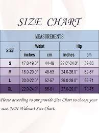 Walmart Time And Tru Size Chart Sayfut Sayfut Womens Silicone Padded Butt Lifter Panties