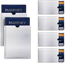 RFID Blocking Sleeve Anti Theft 4 Credit Card & 2 ... - Amazon.com