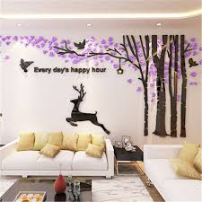 new big 3d acrylic wall stickers tree living room sofa tv background wall art home sticker on wall art stickers tree with new big 3d acrylic wall stickers tree living room sofa tv background