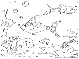 Small Picture Fish Habitat Coloring Pages Coloring Pages