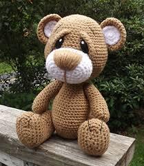 Crochet Teddy Bear Pattern Adorable Ravelry Little Brown Teddy Bear Pattern By Lisa Jestes