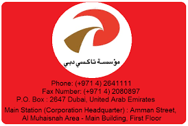 Rta Organization Chart Dubai Color Coded Taxi Dubaicreektower