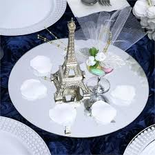 details about x round glass mirror wedding party table decorations centerpieces mirrors ikea