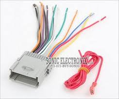 metra 70 2003 wiring harness for select 1998 2009 gmc vehicles