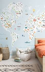 Boys bedroom wallpaper ...