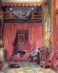 Painting The Bedroom Ferrieres The Bedroom Portrait Of Baron Alphonse De