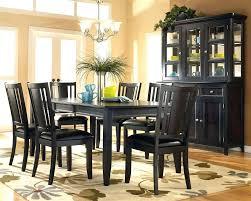 black dining set black wood dining room set black dining set round