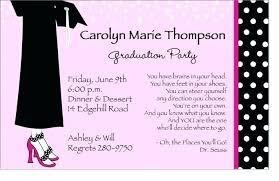 Free Printable Graduation Dinner Invitations Graduation Party