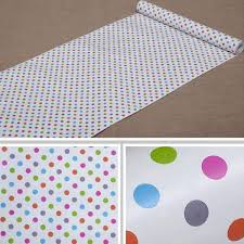 To line a drawer or shelf: Amazon Com Glow4u Self Adhesive Polka Dots Shelf Drawer Liner Vinyl Contact Paper For Cabinets Drawer Dresser Arts And Crafts 17 7 X 78 Inches