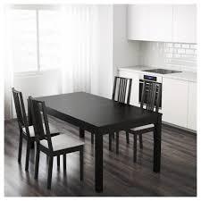 Ikea Dinning Room bjursta extendable table brownblack ikea 4487 by uwakikaiketsu.us