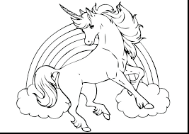 Draw So Cute Coloring Pages Unicorn