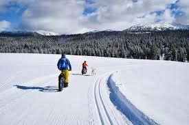 winter outdoor activities. Fat Biking McCall Idaho Winter Outdoor Activities