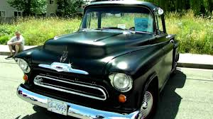 1956 Chevy Pickup Truck - YouTube